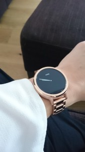 Moto 360 Ladies Smartwatch Review in Rose Gold